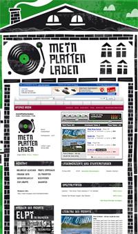 Screenshot von »Mein Plattenladen«