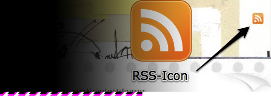 Headergrafik mit RSS-Icon