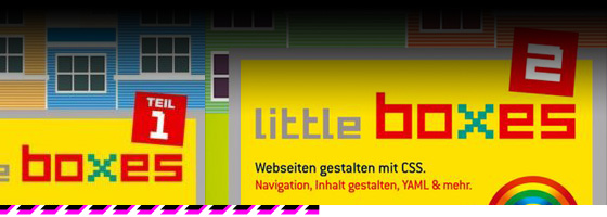 little boxes - HTML, CSS