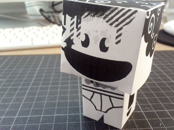 Kopfbunt - Paper Critter