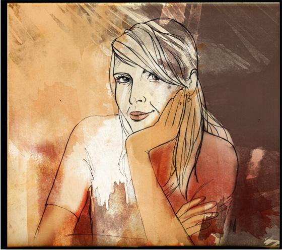 Nadine Rossa - Portrait
